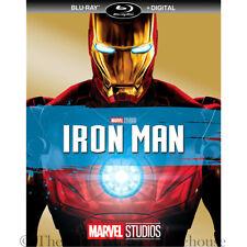 Marvel Billionaire Superhero Iron Man First MCU Movie on Blu-ray & Digital Copy