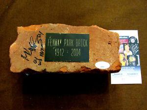 MANNY RAMIREZ 04 WS MVP RED SOX SIGNED AUTO VTG 1912-2004 FENWAY PARK BRICK JSA