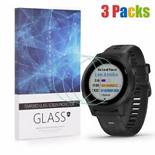 For Garmin Forerunner 945 Tempered Glass Screen Protector 9H Hardness (3 Packs)