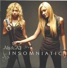 ALY & AJ / INSOMNIATIC * NEW CD * NEU *