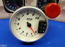 """Marshall 3296 5"""" Tachometer 10,000 RPM Memory Tach with Recal Shift Light"""