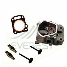 Fits Honda GX390 13HP Cylinder Head Kit Exhaust Inlet Valves Head Gasket Rockers