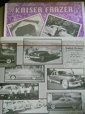 Kaiser Frazer 1999 & 2000 Calendars - Excellent Condition