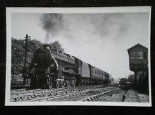 POSTCARD BLACK 5 CLASS LOCO NO 44751 AT WILMSLOW JULY 1950 ON THE MANC / CREWE T