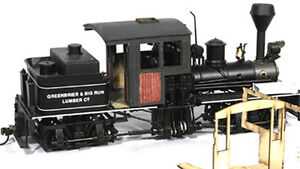 BANTA MODELWORKS BACHMANN On30 SHAY WOOD CAB CONVERSION Unpainted Kit BMT2104