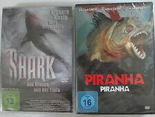 Meer Ungeheuer Horror Sammlung - Shark der weiße Hai & Piranha - Grauen Tiefe
