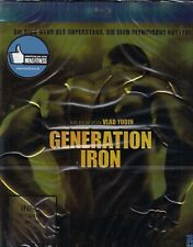 Generation Iron (Pumping Iron II) (Hochprägung und Goldglanzfolie) Blu-ray, NEW!