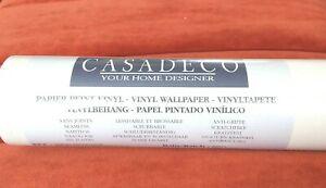 CASADECO TEXTURED VINYL WALLPAPER - 4 ROLLS - HIGH QUALITY JOHN LEWIS - WAS £148