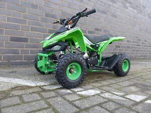 Miniquad Quad Kinder KXD ATV 6A 4 Zoll 49ccm 2 Takt Pocketquad Kinderquad Grün