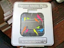 Power Mate Plus Portable Bakeup Battery for iPhone 3GS / 4 / 4S NEW IN BOX