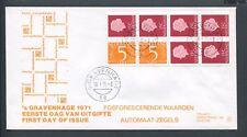 FDC met postzegelboekje PB 10f, Philato, blanco/open