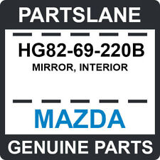 HG82-69-220B Mazda OEM Genuine MIRROR, INTERIOR