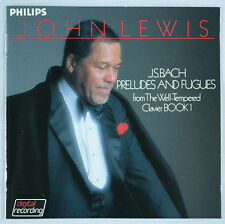 Bach: Well-Tempered Clavier Bk 1/John Lewis-Japan Philips 24K Gold CD PHCE-33008