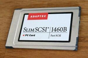 Adaptec PCMCIA Slim SCSI 1460B Adapter Laptop Notebook ohne Kabel