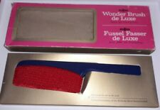 Vintage ALLSTAR Wonder Brush de Luxe - Fabric Brush - Excellent Condition