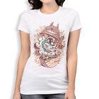 Studio Ghibli Anime T-Shirt, Totoro Spirited Away Tee, Women's All Sizes