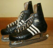 Adidas Ice Skates Black-Pro Size 12 Men's Vintage Ice Hockey Winter Sports