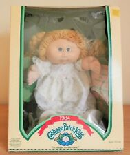 "New Cabbage Patch Doll ""Jilly Amity� Orignal Package 1984 Girl Blonde Pigtails"