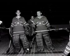 Charlie Hodge, Gump Worsley Montreal Canadiens 8x10 Photo