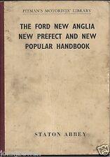 Pitman's Motoring Library - New Ford Anglia/Prefect/Popular 105/107E