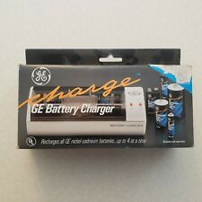 Vintage Ge Battery Charger (Nickel-Cadmium Batteries) New!