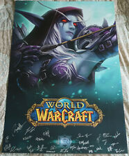 Blizzcon 2016 Official WoW World of Warcraft Sylvanas Windrunner Signed Poster
