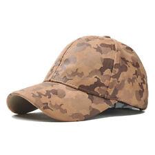 Men Women Hombre Camouflage Military Army Camo Hat Trucker Snapback Baseball Cap