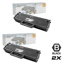 LD 2 Pack MLT-D104S Black Toner Cartridge for Samsung ML-1665 1661 1666 ML-1667