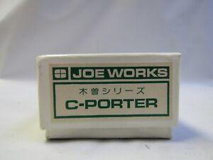 JOE WORKS HOn 2 1/2 ,HOn30 C PORTER 0-6-0 BRASS KIT NIB