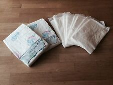 2 x Snuggies Waddler Overnight Adult Nappy with 4 stuffers. ABDL. Medium.