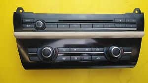 BMW 5 SERIES F10 F11 520D 530i 2010-2013 AC HEATER CLIMATE CONTROL PANEL 9236483