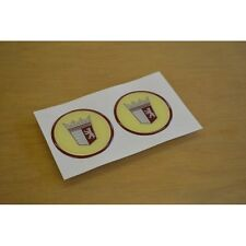 TABBERT Caravan Wheelcap Stickers Decals Graphics (STYLE 2) - PAIR
