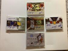 Lot Of 100 Auto Facsimile Reprint Michael Jordan Lebron James And  Kobe Bryant