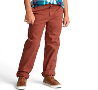 Cat & Jack Boys' Classic Stretch Straight Chino Pants- Toffie Talk