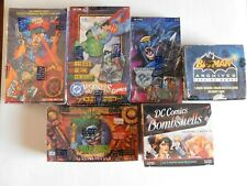DC Trading Cards pack lot NEW from factory sealed box, Awesome savings!