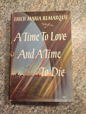 Erich Maria Remarque, A Time to Love and A Time to Die, first edition, jacket