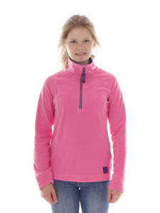 O`Neill Fleece Pullover Function Top Slope Pink half Zip Warming