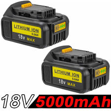 2x 18V 5.0AH For Dewalt Battery DCD785 DCB180 DCB181 DCB200 DCB201 Led Indicator