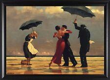 """Jack Vettriano, """"The Singing Butler"""" Framed Art, 33x23"""