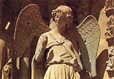 Alte Kunstpostkarte - Cathédrale de Reims - l'Ange gardien de St. Nicaise