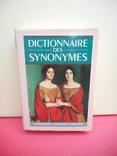 LAROUSSE - DICTIONNAIRE des SYNONYMES (France loisirs)