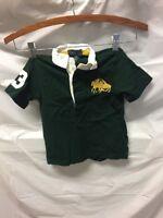 Polo Ralph Lauren Toddler Boys Green Polo Sz 24M Shirt Short Sleeve