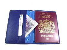 Super Soft Genuine Leather Passport Holder Travel Wallet Document Pouch