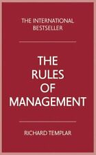 The Rules of Management (4th Edition) by Templar, Richard