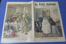 Le petit journal 1894 178 Toilette communiante + foire au pain d'épice