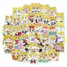 40Pcs Sailor Moon Stickers Japan Anime Character Printed Scrapbooking DIY NyLIx