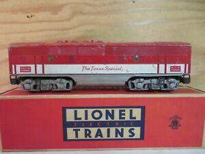 LIONEL TRAIN 2245C POSTWAR F3 B THE TEXAS SPECIAL RAILROAD ENGINE UNIT