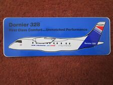 AUTOCOLLANT STICKER AUFKLEBER AVION DORNIER 328 AIR FRANCE AIR INTER EXPRESS