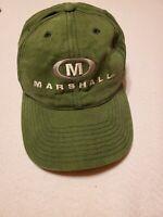Marshall University Hat Cap Vintage NCAA Undefeated MU Thundering Herd Green