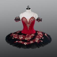 Carnival Of Venice Red & Black Professional Classical Ballet Tutu Kitri MTO YAGP